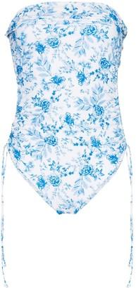 Juillet Lennox floral-print swimsuit