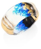 Alexis Bittar Lucite Clear Bangle