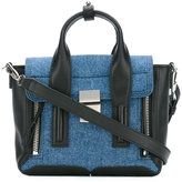 3.1 Phillip Lim Pashli mini satchel - women - Leather/Cotton - One Size