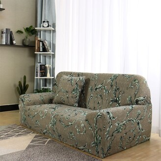 Unique Bargains 1 2 3 4 Seater Chair Loveseat Sofa Cover Slipcover Sofa Protector