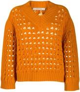 Schumacher Dorothee cashmere long-sleeve jumper