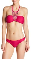 Pilyq Embroidered Stella Bikini Top