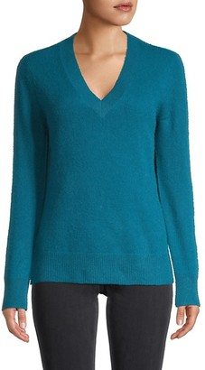 Saks Fifth Avenue Cashmere V-Neck High-Low Sweater