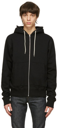 Naked and Famous Denim Black Heavyweight Hoodie