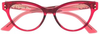 Christian Dior DiorCD4 cat-eye frame glasses