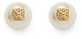 Rebecca Minkoff Two Part Pearl Earring