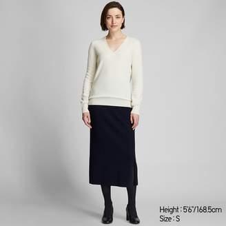 Uniqlo WOMEN Cashmere V Neck Sweater