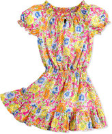 Ralph Lauren Floral-Print Dobby Dress, Girls' 4-6X