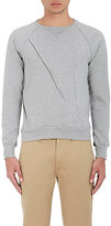 Undercover Men's Creased Cotton Sweatshirt-LIGHT GREY