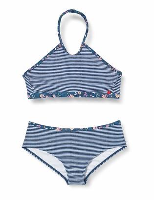 Esprit Girl's Long Beach Yg Neckholder+hipster Short Bikini Set
