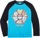 Pokemon Raglan Boys 8-20