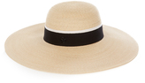 Maison Michel Blanche hemp-straw hat