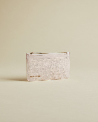 Ted Baker ALLEXAA Leather zip-up cardholder