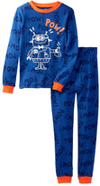 Petit Lem Mad Science Robot Pajama Set (Toddler & Little Boys)