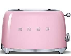 Smeg Tsf01Pkau - 2 Slice Toaster Pastel Pink