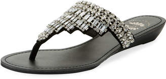 Premium Collection By Yellow Box Vinton Embellished Thong Sandal