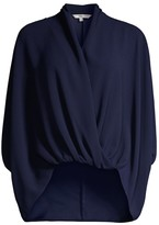 Trina Turk Concourse Draped Top