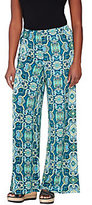 Joan Rivers Classics Collection As Is Joan Rivers Petite Length Pull-on Jersey Knit Palazzao Pants