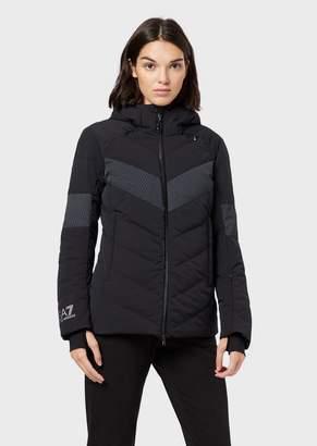 Emporio Armani Ea7 Padded Technical Ski Jacket