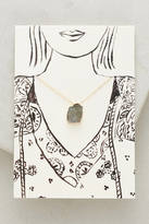 Anthropologie Notecard Gifting Necklace