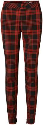 Noisy May Tribeca Checkered Skinny Pants
