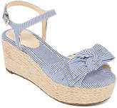 Liz Claiborne Brooklyn Womens Wedge Sandals