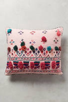 Anthropologie Tufted Leyland Pillow