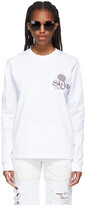 Thumbnail for your product : SSENSE WORKS SSENSE Exclusive White 'Out Of Sight' Long Sleeve T-Shirt