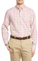 Cutter & Buck Men's Big & Tall Laurel Grove Wrinkle Free Plaid Sport Shirt