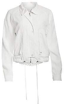 Helmut Lang Women's Utility Parachute Short Trench Jacket