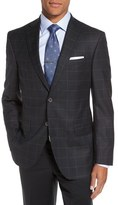 David Donahue 'Connor' Classic Fit Check Wool Sport Coat