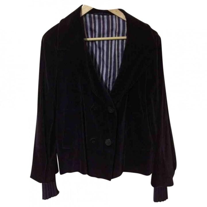 Ballantyne Purple Velvet Jacket for Women