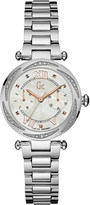 Gc Y06111L1 ladychic silver-tone watch