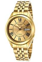 Seiko Men's SNKL38 Plated Stainless Steel Analog with Dial Watch