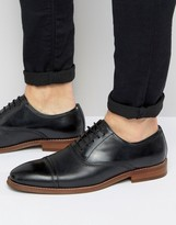 Steve Madden Markey Leather Oxford Shoes