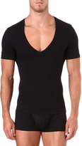 Spanx Deep v-neck t-shirt