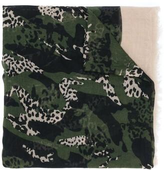 Zadig & Voltaire Animal-Print Scarf