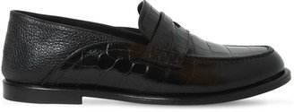 Loewe Leather Loafers