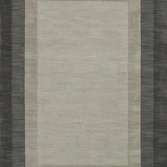 Loloi Hand Loomed Cut & Loop 100% Wool Pile Hamilton Area Rug by Loloi, Slat