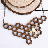 Juliet Reeves Designs Honey Bee Necklace