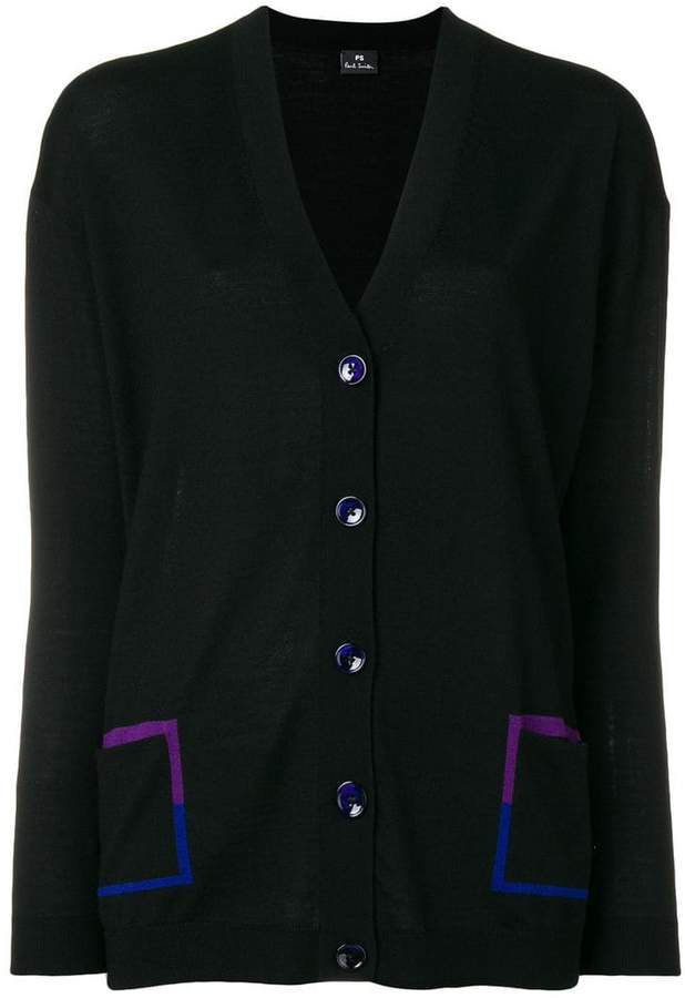 Paul Smith v-neck long sleeve cardigan