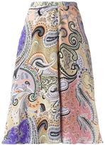 Etro multi printed skirt