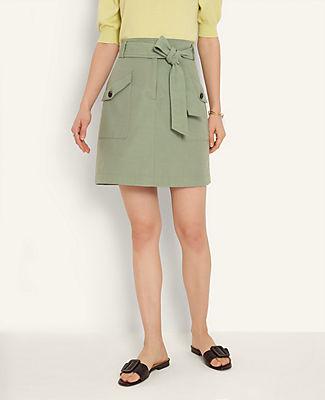 Ann Taylor Cargo Skirt