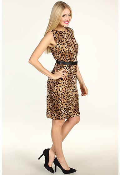Calvin Klein Sleeveless Seamed Dress
