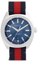 Gucci Men's Web Strap Watch