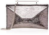 M2Malletier Anabelle Metallic Envelope Clutch