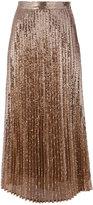 Twin-Set sequins embellished skirt