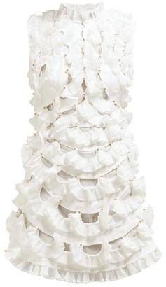 Womens Frill Dress Shopstyle Uk
