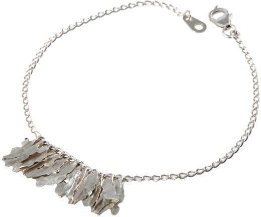 Michelle Oh Silver Kelp Bracelet