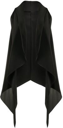 Emporio Armani Draped Asymmetric Waistcoat